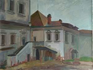 Спасо-Андроников монастырь. Во дворе.