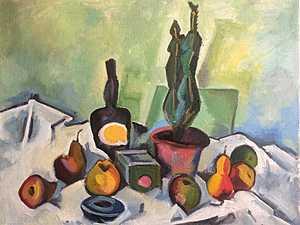 Кактус и фрукты