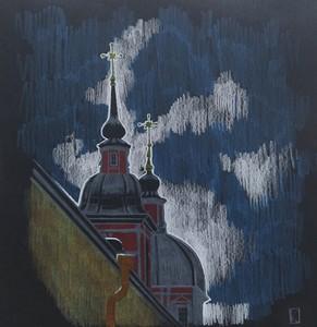 Церковь Святого Великомученика и Целителя Пантелеймона.Пленэр.