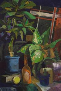 Натюрморт с кактусом