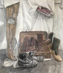 Групповой портрет ботинок