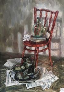 Красный стул