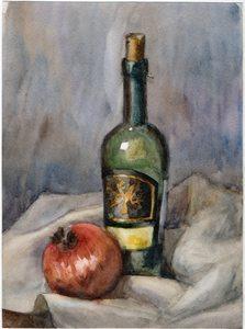 Вино и гранат