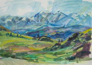 Вид на долину