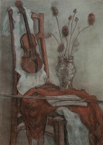 Скрипка и ворсянка