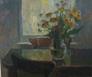 Цветы в контражуре