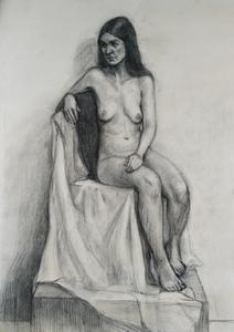 Портрет обнаженной