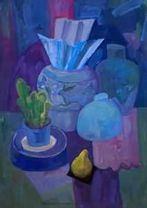 Пурпурный натюрморт