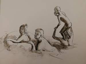 купание