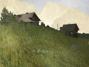 Северная деревня Опоки