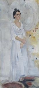 Сюзанна в белом