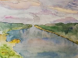 Волга. Два берега