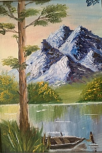 Сосна у озера