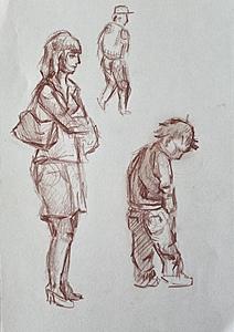 Зарисовки людей_2
