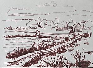 Дорога к деревне