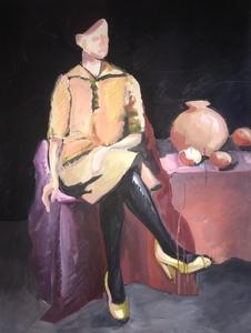 В желтых туфлях