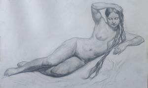 Обнаженная фигура женская копия