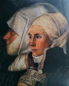 Фрагмент Дармштадтской Мадонны Гольбейна