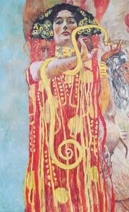 Гигиея. Фрагмент картины «Медицина» (Роспись потолка для Венского Университета) 1901