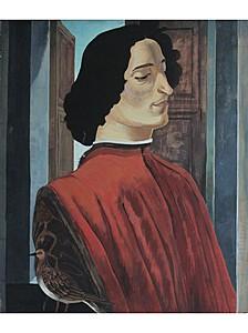 """Копия """"портрета Джулиано Медичи"""" Ботичелли"""