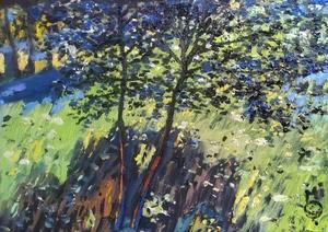 В тени леса
