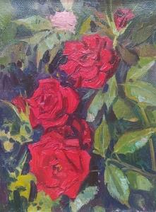 Красные розы