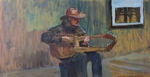 Музыка в метро. В переходе №1