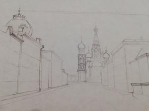 Набросок собора