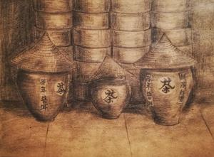 Китайские глиняные горшки