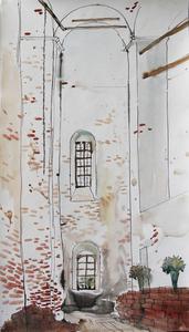 Белый храм. Развалины