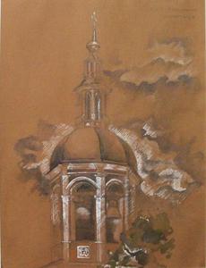 Колокольня Свято-Даниловского монастыря
