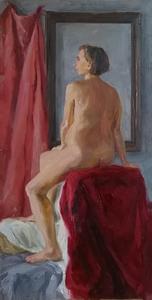 Юлия в красном