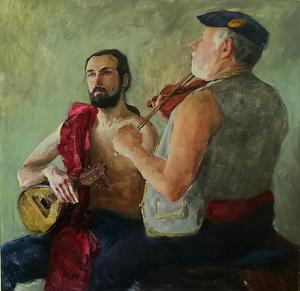 музыканты. учебная постановка