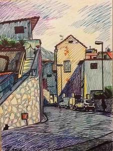 Итальянская улочка в Мояно